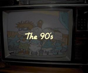 90s, tv, and cartoon image