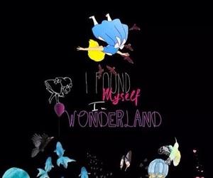 alice in wonderland and disney image
