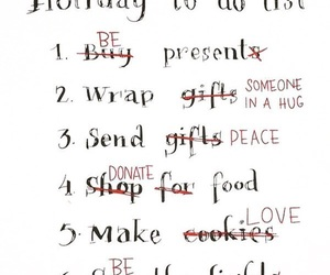 christmas, holiday, and list image
