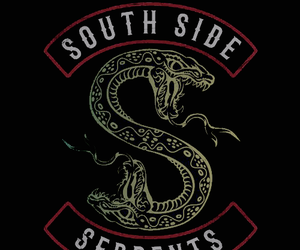 riverdale, serpent, and wallpaper image