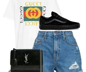 gucci, outfit, and vans image