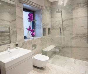 bathroom, colors, and goals image