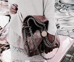 accessories, purse, and white image