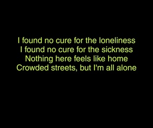 bright, home, and Lyrics image