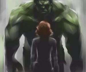 Hulk, Avengers, and love image