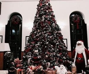 christmas, tree, and love image