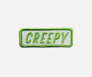 green, creepy, and fashion image