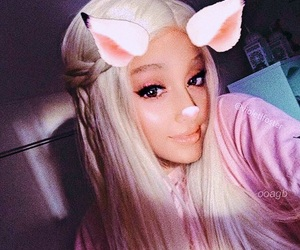 pink, theme, and ari image