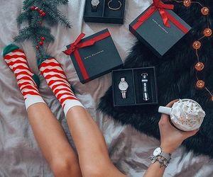 drink, gift, and girl image