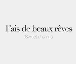 Dream, french, and quotes image