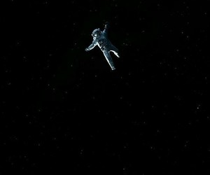 space, astronaut, and background image