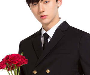 white, minhyun, and x ivy club image