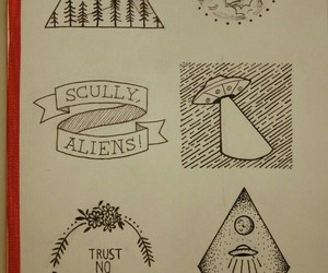 alien and tattoo image
