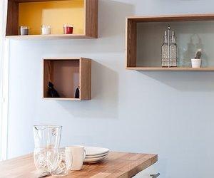 столовая, дизайн столовой, and интерьер столовой image