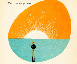 Watch the sun go down. From Adrienne Adams' What Makes A Shadow, 1960