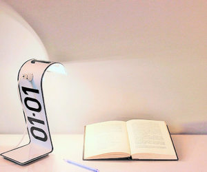 desk lamp, etsy, and table lamp image
