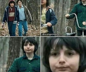 stranger things, mike, and mike wheeler image