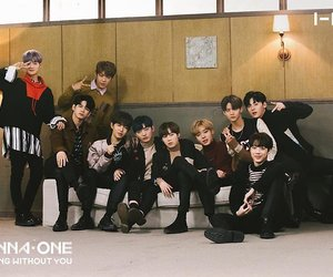 brown, wanna one, and photoshoot image