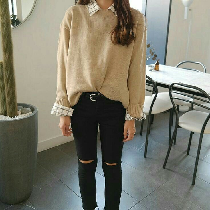 asian, brown, and clothes image