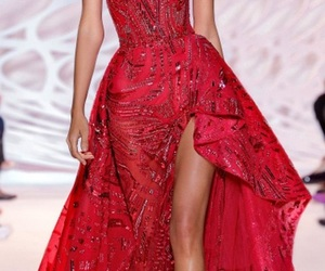 long dresses, haute couture gowns, and zuhair murad 2018 image