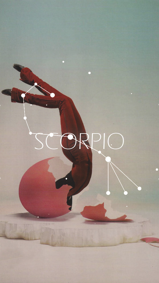 scorpio, wallpaper, and zodiac image