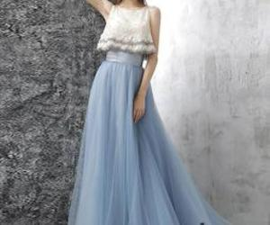 a-line, tulle, and homecoming dress image