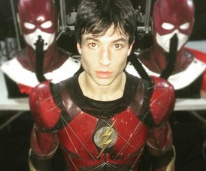 ezra miller, justice league, and DC image