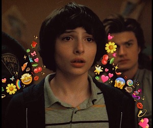 edit, finn wolfhard, and mike wheeler image
