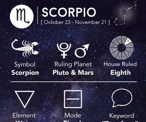 scorpio, astrology, and mars image