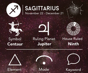 Sagittarius and astrology image