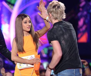 ariana grande and ross lynch image