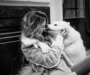 b&w, puppies, and cute image