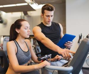 fitness, personaltrainer, and trainer image