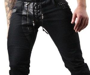 gothic clothing and fashion clothes for men image