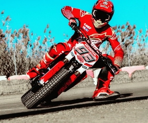 motorcross, marc marquez, and dirtbike image