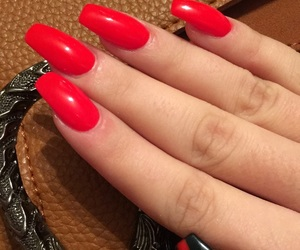 gucci, red, and nails image