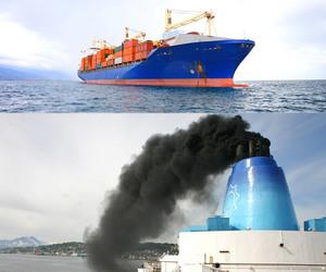 sea cargo, cargo to pakistan, and sulphur emission image