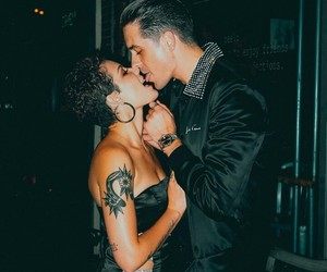 music, halsey, and g eazy image