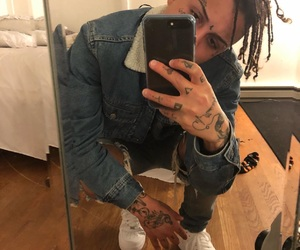 rapper, jeans, and selfie image