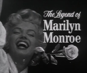 Marilyn Monroe, black and white, and old image