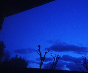 blue, crepuscule, and dark image