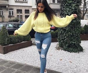 yellow, casual, and fashion image