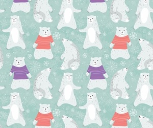 bear and pattern image