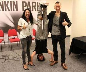 linkin park, chester bennington, and mike shinoda image