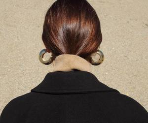 style, fashion, and earring image