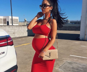 pregnancy, pregnant, and goals image