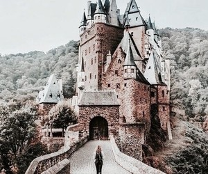 castle, travel, and architecture image