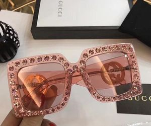 gucci, fashion, and sunglasses image