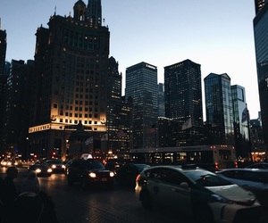 city, tumblr, and light image