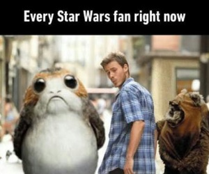 meme, star wars, and cute af image